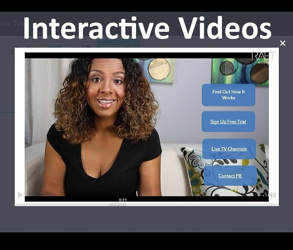 create Interactive Videos